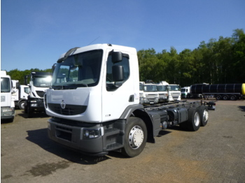 Chassis vrachtwagen Renault Premium 320 dxi 6x2 chassis