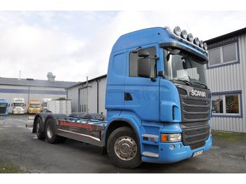 Chassis vrachtwagen SCANIA R480LB6X2*4MNB