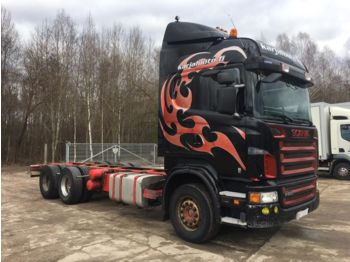 SCANIA R500 6x4 MANUAL - chassis vrachtwagen