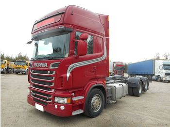 SCANIA R 620 LB6x2MNB, manual,retarder - chassis vrachtwagen
