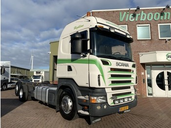 Chassis vrachtwagen Scania R400 6X2 CHASSIS OPTICRUISE 3 PEDALS HOLLAND TRUCK!!!!!!!!!!!!
