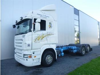 Scania R420 6X2 RETARDER EURO 4 CHASSIS  - chassis vrachtwagen