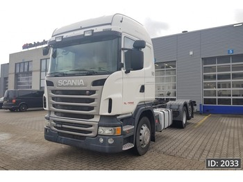 Scania R480 Highline, Euro 5, ADR - chassis vrachtwagen