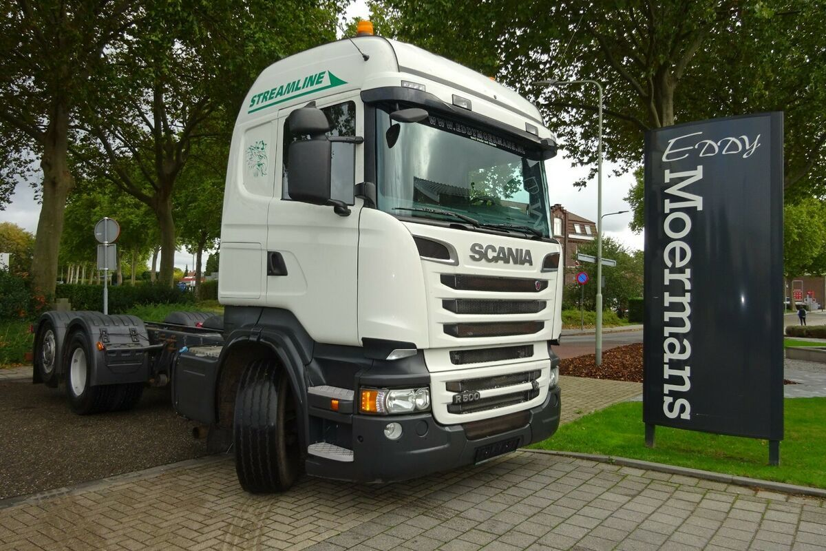 chassis vrachtwagen Scania R500 High-Streamline 6x2 Chassis