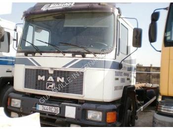 Containertransporter/ wissellaadbak vrachtwagen MAN F2000