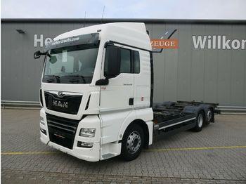 Containertransporter/ wissellaadbak vrachtwagen MAN TGX 26.500 6x2-4LL XLX*Multi*2xAHK*Lift/Lenk*ACC