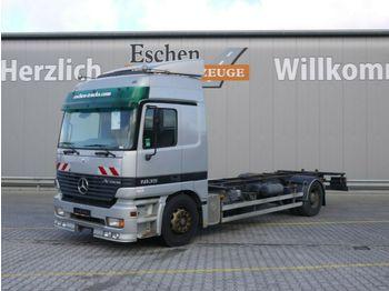 Containertransporter/ wissellaadbak vrachtwagen Mercedes-Benz 1835 LL, 4x2, BDF, Klima, Luft