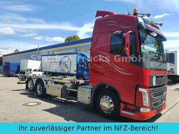 Containertransporter/ wissellaadbak vrachtwagen Volvo FH 500 Globe BDF 6X2 RETARDER f. alle Brücken !