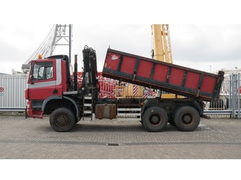 Ginaf X3331/430 6X6 3 SIDE TIPPER WITH TIRRE 181 CRANE - vrachtwagen