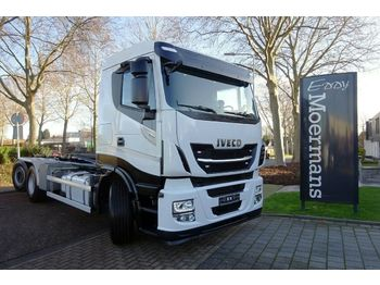 Haakarmsysteem vrachtwagen Iveco AS260SY 6x2*4 Abroller