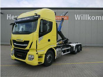 Haakarmsysteem vrachtwagen Iveco AS 260S48 Y/PS Stralis*PalfingerT20-31*Lift/Lenk