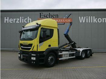 Haakarmsysteem vrachtwagen Iveco AT 260SY 420*Palfinger T20-31MPA*Lift/Lenk*Klima