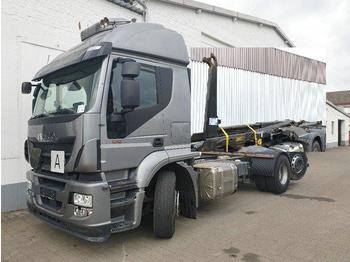 Haakarmsysteem vrachtwagen Iveco Stralis AT260SY/PS/460 6x2/4 Stralis AT260SY/PS/460 6x2/4, Lenk Liftachse, Meiller RK 20.70