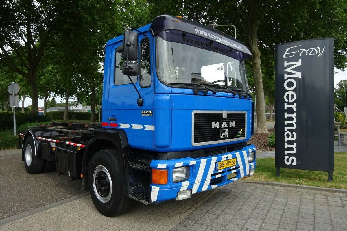 haakarmsysteem vrachtwagen MAN 19.272 F90