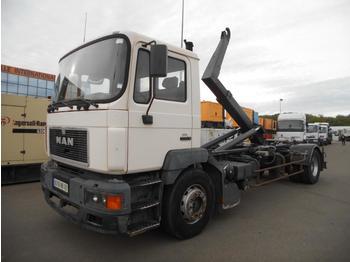 Haakarmsysteem vrachtwagen MAN 19.343