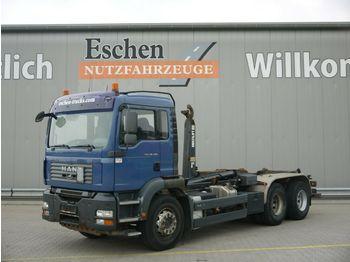 Haakarmsysteem vrachtwagen MAN TGA 26.400 6x4BB*Multilift LHS26256*Klima*1.Hand