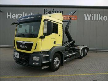 Haakarmsysteem vrachtwagen MAN TGS 26.420 6x2-4BL*Meiller RS21.65*Intarder*Lenk