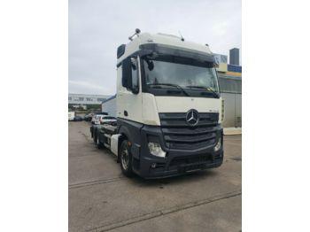 Haakarmsysteem vrachtwagen Mercedes-Benz Actros 2545 HIAB Abroller Bigspace  E6 Intarder