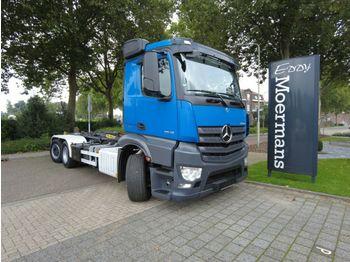Haakarmsysteem vrachtwagen Mercedes-Benz Antos 2545 Abroller Lift/Lenckachse