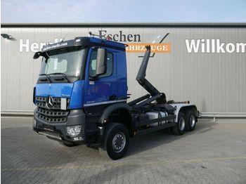Haakarmsysteem vrachtwagen Mercedes-Benz Arocs 3348 AK 6x6 BB, Meiller RK 20.65, 1. Hand