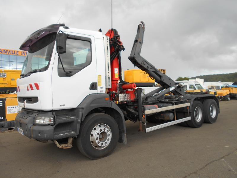 haakarmsysteem vrachtwagen Renault Kerax 340