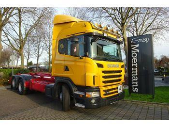 Haakarmsysteem vrachtwagen Scania G400 6x2*4 Abrollkipper