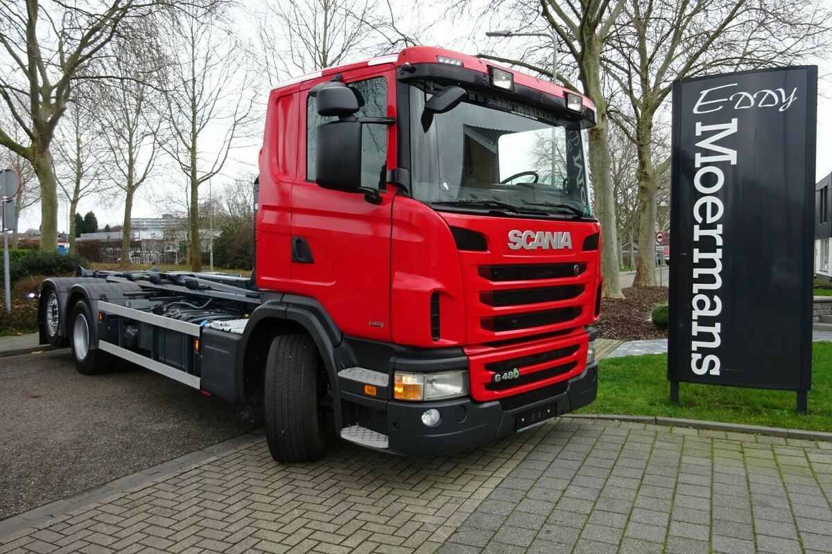 haakarmsysteem vrachtwagen Scania G480 6x2 EURO 6