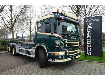 Haakarmsysteem vrachtwagen Scania P420 6x2