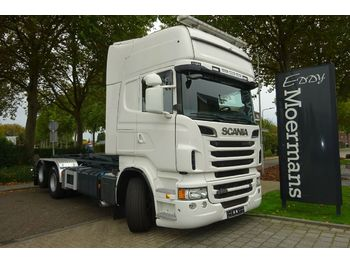 Haakarmsysteem vrachtwagen Scania R500 6x2 Hakenabroller