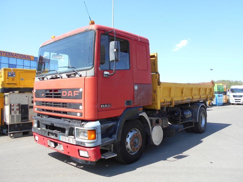 kipper vrachtwagen DAF 95 ATI 350