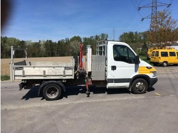 IVECO Daily City 35 C 14 daru + 3 old. bill - kipper vrachtwagen
