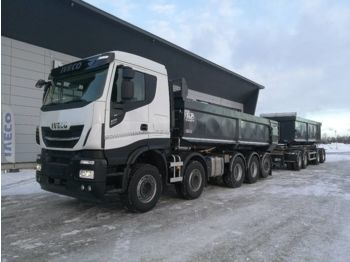 Kipper vrachtwagen IVECO X-Way AS 340X57 10x4 SLP