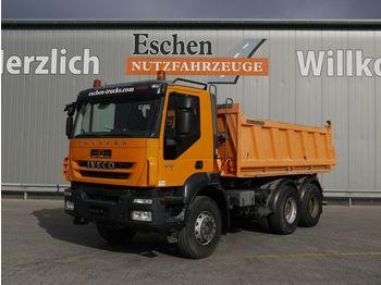 Kipper vrachtwagen Iveco AD 260 T 41 6x4, Meiller 3-S-Kipper, Manuell, E5