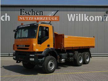 Kipper vrachtwagen Iveco AD 260 T 41 W, 6x6, Blatt