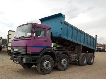 Iveco Magirus 340-34 (GRAND PONT / SUSPENSION LAMES) - kipper vrachtwagen