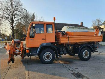 Kipper vrachtwagen MAN 10.224 FAK 4X4 Kipper Winterdst TÜV NEU  Singleb