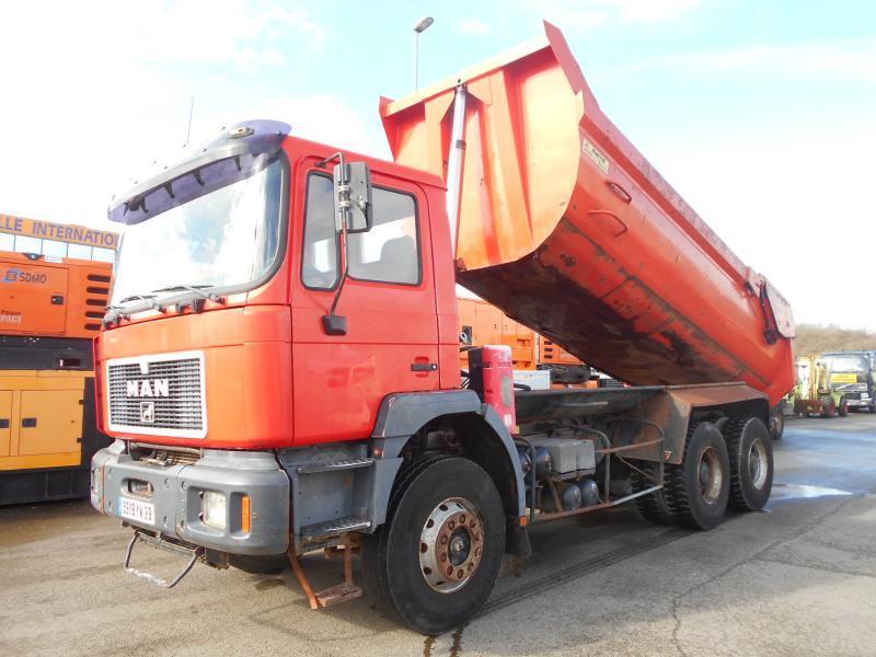 kipper vrachtwagen MAN 33.364