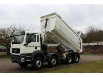 Kipper vrachtwagen MAN 41.400 8x4 EuromixMTP Hydraulisch TM20/ EURO 3