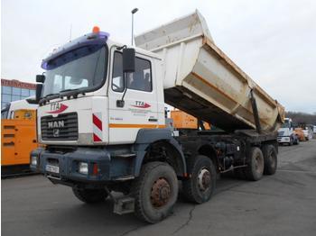 Kipper vrachtwagen MAN FE 460 A