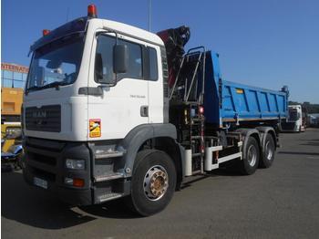 Kipper vrachtwagen MAN TGA 33.410