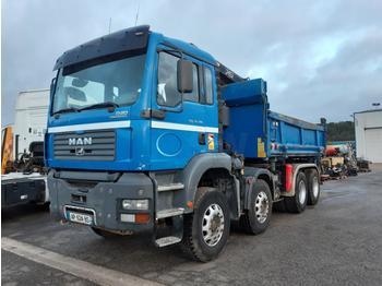 Kipper vrachtwagen MAN TGA 35.390