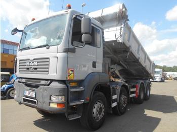 Kipper vrachtwagen MAN TGA 35.400