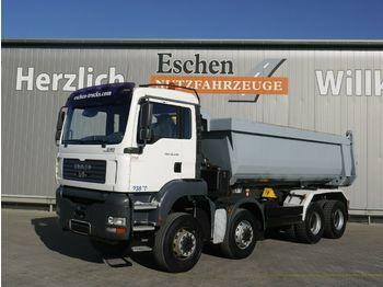 Kipper vrachtwagen MAN TGA 35.430 8x8BB 19m³ Muldenkipper*Blatt*Manuell