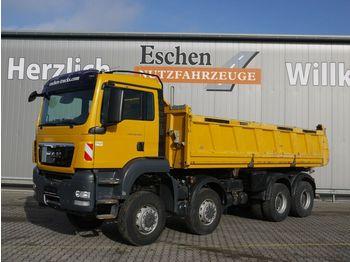 Kipper vrachtwagen MAN TGS 35.440 8x6BB Meiller 3-S-Kipper, Bordmatik
