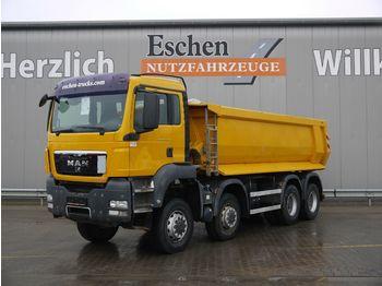Kipper vrachtwagen MAN TGS 35.440 8x6 BB, Carnehl 18m³ Hardox, Klima,AP
