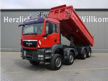 Kipper vrachtwagen MAN TGS 35.440 8x8 BB, Meiller 3-Seiten, Klima, EUR5