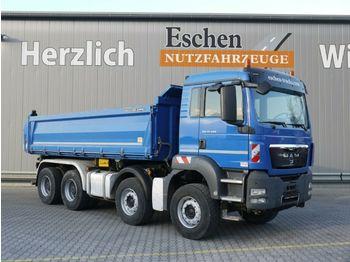 Kipper vrachtwagen MAN TGS 35.440 BB, 8x4, Bordmatik, Klima, Blatt