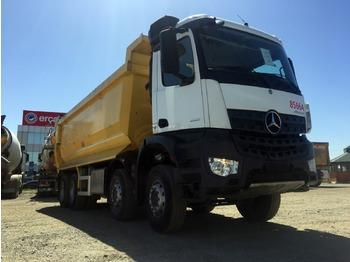 MERCEDES-BENZ 2017 4142 AROCS E6 8X4 AUTO HARDOX TIPPER 20 PCS AVAILABLE - kipper vrachtwagen