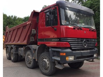 MERCEDES-BENZ Actros 4143 Manual GearBox. Big Axels - kipper vrachtwagen