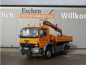 Kipper vrachtwagen Mercedes-Benz 1318 AK Atego, 4x4, Kommunalschild, MKG HLK 71a2